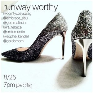 Runway Worthy Posh Party, Sun. 8/25 @ 7pm pst